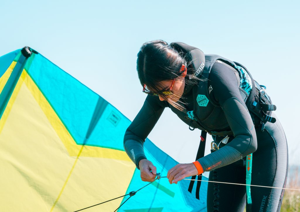 kurs kitesurfingu