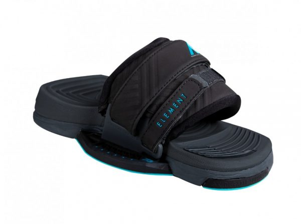 PADY+FOOTSTRAPY AIRUSH 2021 ELEMENT BLACK